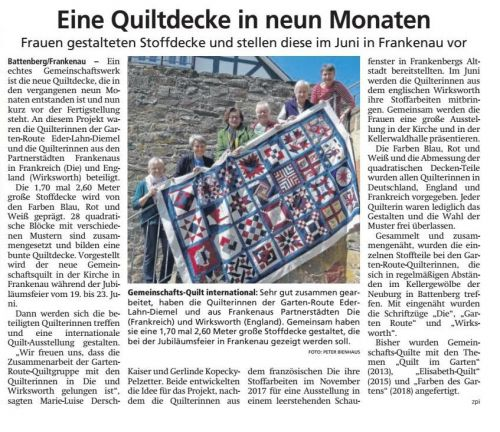 20190523 HNA Quiltdecke International