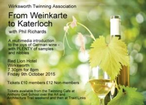 German wine tasting Oct 2015